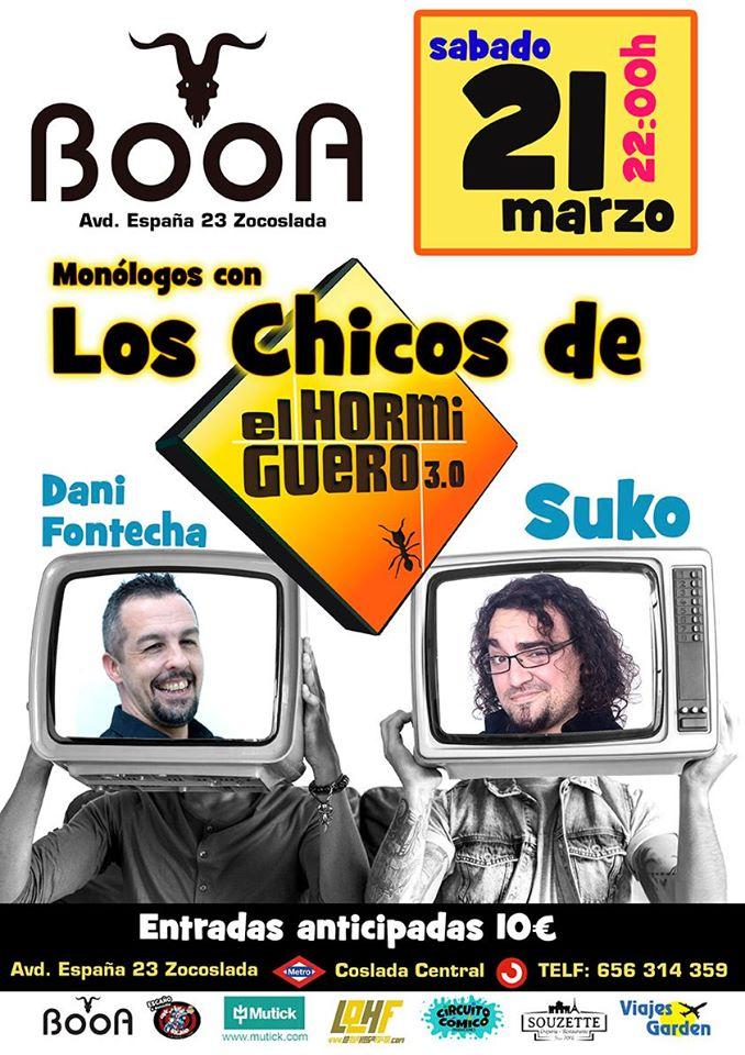 Booa - Los Chicos de El Hormiguero