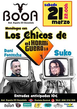 Booa - Monólogos con Los Chicos de El Hormiguero: Suko & Dani Fontecha