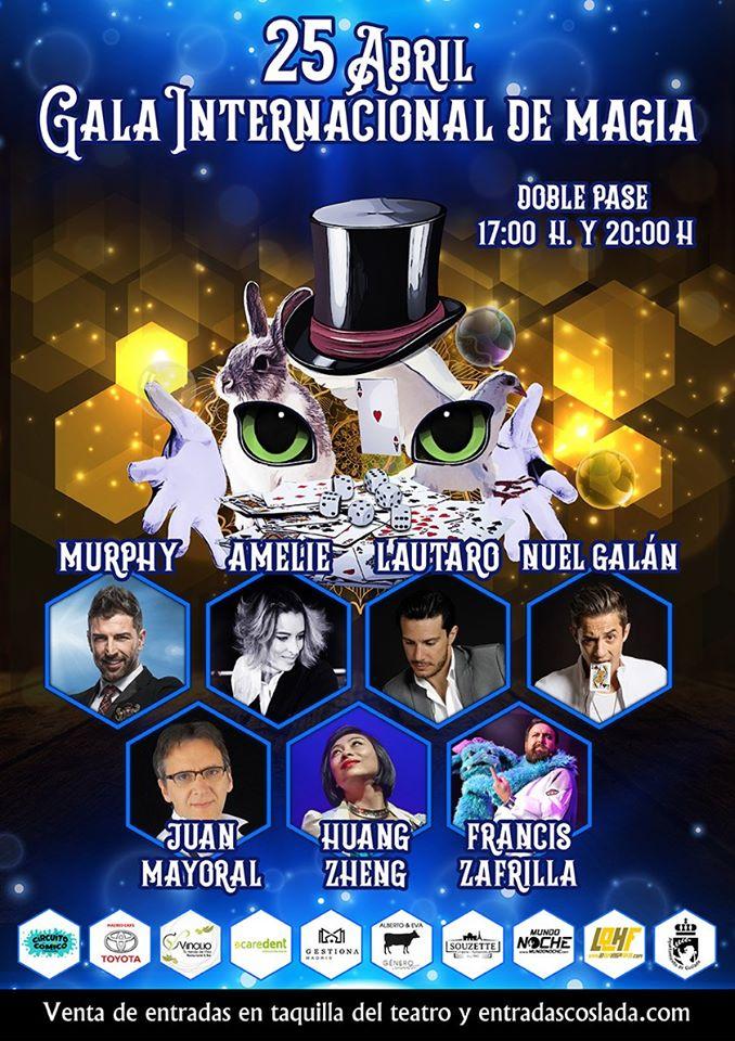 Gala Internacional de Magia - Coslada