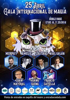 Gala Internacional de Magia - 25 de Abril de 2020