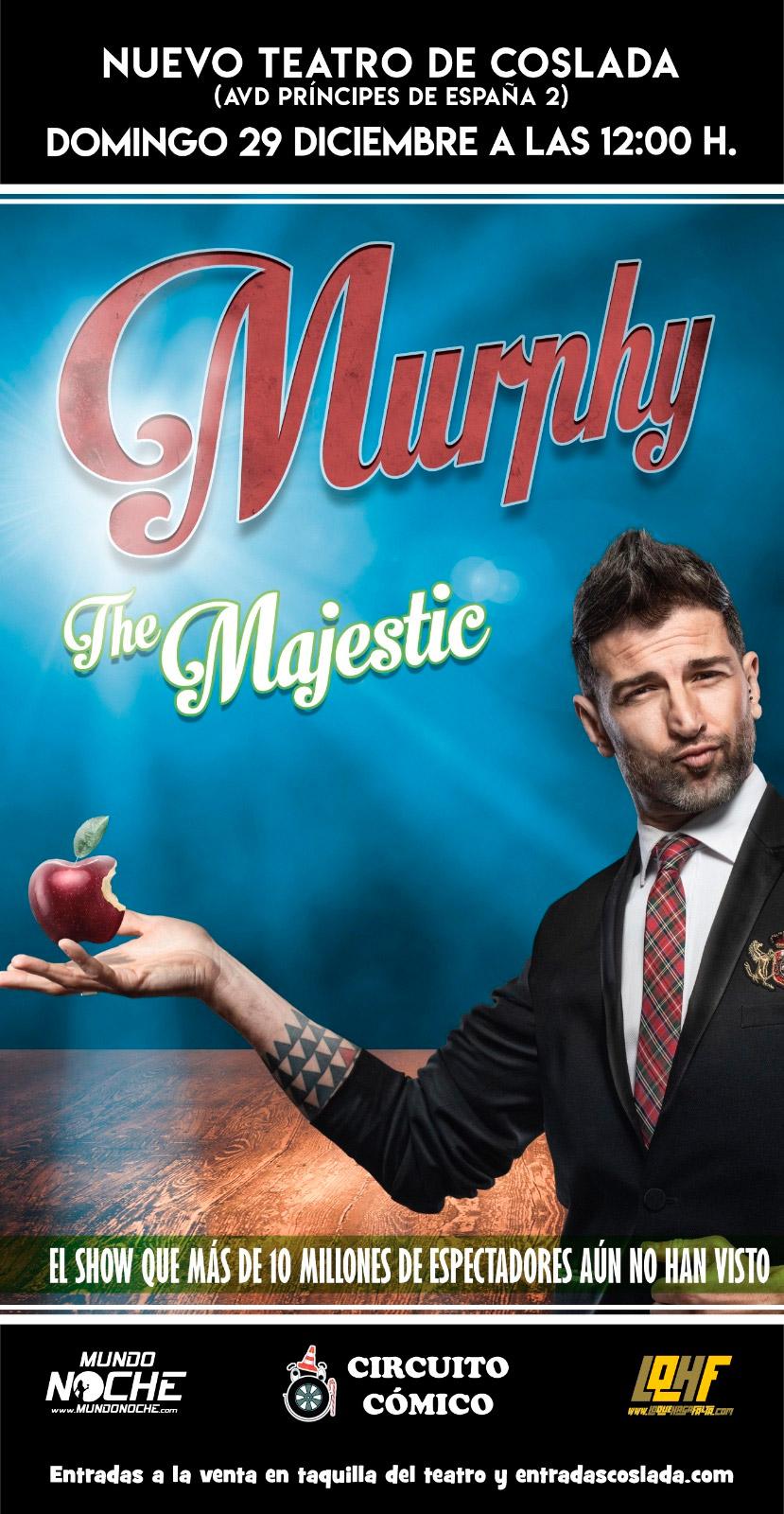 Murphy The Magician - Nuevo teatro de Coslada